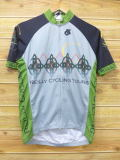 M★古着 半袖 サイクリング シャツ レイリーサイクリングツアー グレー 18jul16 中古 メンズ トップス