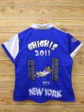 S★古着 半袖 シャツ NEW YORK 男性 ビル 青他 ブルー 18jul23 中古 メンズ トップス