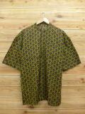 L★古着 半袖 シャツ 魚 緑 グリーン 18aug30 中古 メンズ トップス
