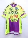XL★古着 半袖 サイクリング シャツ JOLLY ジョーカー イタリア製 黄 イエロー 19jun14 中古 メンズ トップス