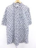 XL★古着 半袖 シャツ 90年代 大きいサイズ 白他 ホワイト 19jul18 中古 メンズ トップス