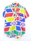 M★古着 半袖 シャツ 80年代 オーシャンパシフィック OP サーフ USA製 赤他 レッド 19aug05 中古 メンズ トップス