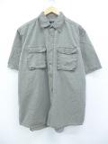 【20%OFF】L★古着 半袖 シャツ レッドヘッド 薄緑 グリーン 19aug26 中古 メンズ トップス