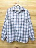 L★古着 長袖 ビンテージ シャツ 60年代 アロー 緑 グリーン チェック 18apr18 中古 メンズ トップス