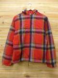 L★古着 長袖 ビンテージ ウール トップス パーカー 60年代 赤 レッド 18sep07 中古 メンズ
