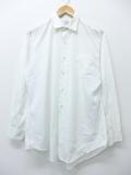 M★古着 長袖 ビンテージ シャツ 60年代 白 ホワイト 19sep05 中古 メンズ トップス