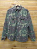 XL★古着 長袖 ハンティング シャツ 90年代 USA製 迷彩 18jun08 中古 メンズ トップス