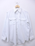 L★古着 長袖 ワーク シャツ 70年代 ビッグマック BIG MAC 白 ホワイト 【spe】 19oct31 中古 メンズ トップス