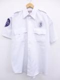 XL★古着 半袖 ワーク シャツ セキュリティ 白 ホワイト 19aug26 中古 メンズ トップス