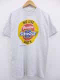 XL★古着 ビンテージ Tシャツ 90年代 シボレー 薄グレー 霜降り 【spe】 19aug21 中古 メンズ