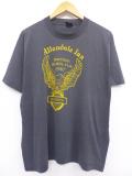 XL★古着 ビンテージ Tシャツ 80年代 バイクウィーク デイトナビーチ USA製 黒 ブラック 19aug21 中古 メンズ