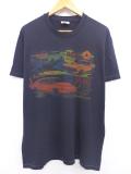 L★古着 ビンテージ Tシャツ 90年代 デイトナ 車 クライスラー USA製 黒 ブラック 【spe】 19aug21 中古 メンズ