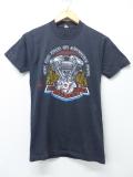 XS★古着 ビンテージ ハーレーダビッドソン Harley Davidson Tシャツ 80年代 エンジン USA製 黒 ブラック 【spe】 19aug30 中古 メンズ