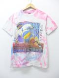 M★古着 ビンテージ Tシャツ 90年代 スズキ モトクロス コーラ他 企業広告 ピンク タイダイ 19aug30 中古 メンズ
