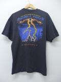 XL★古着 Tシャツ ラリーフェスティバル バイク 胸ポケット付き 黒 ブラック 19aug30 中古 メンズ