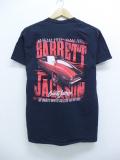 M★古着 半袖 Tシャツ バレットジャクソン 車 コットン クルーネック 黒 ブラック 19sep09 中古 メンズ
