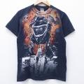 S★古着 半袖 Tシャツ FMX コットン クルーネック 黒 ブラック 20apr03 中古 メンズ