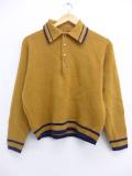 S★古着 長袖 セーター 70年代 ピューリタン USA製 茶 ブラウン 19oct15 中古 メンズ ニット トップス