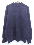 L★古着 長袖 ブランド セーター 80年代 ペンドルトン PENDLETON ウール クルーネック USA製 黒 ブラック 19oct31 中古 メンズ ニット トップス