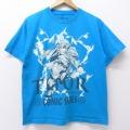 M★古着 半袖 Tシャツ マーベル マイティーソー コミックシリーズ 薄紺 ネイビー 20jul21 中古 メンズ