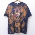 XL★古着 半袖 ロック バンド Tシャツ プライマス フリズルフライ 大きいサイズ クルーネック 黒 ブラック 20aug17 中古 メンズ