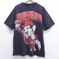 L★古着 半袖 ビンテージ Tシャツ 00年代 00s マイティーマック クルーネック 黒 ブラック 20jun29 中古 メンズ