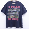 XL★古着 半袖 ビンテージ Tシャツ 00年代 00s ビール 大きいサイズ コットン クルーネック 黒 ブラック 20jul06 中古 メンズ