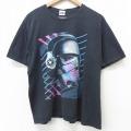 XL★古着 半袖 ビンテージ Tシャツ メンズ 00年代 00s スターウォーズ STAR WARS ストームトルーパー 大きいサイズ クルーネック 黒 ブラック 21jun22 中古