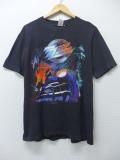 L★古着 ビンテージ ロック バンド Tシャツ 90年代 ZZトップ ジージ―トップ 黒 ブラック 19aug26 中古 メンズ