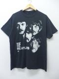 L★古着 ビンテージ ロック バンド Tシャツ 90年代 ビートルズ The Beatles 黒 ブラック 【spe】 19aug26 中古 メンズ