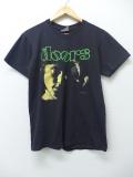M★古着 ビンテージ ロック バンド Tシャツ 90年代 ドアーズ USA製 黒 ブラック 【spe】 19aug26 中古 メンズ