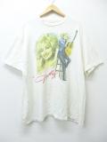 XL★古着 ビンテージ ロック バンド Tシャツ 90年代 ドリーバトン 大きいサイズ USA製 白 ホワイト 19aug26 中古 メンズ