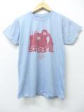 S★古着 ビンテージ ロック バンド Tシャツ 70年代 screams USA製 水色 19aug26 中古 メンズ