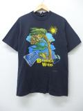 L★古着 ビンテージ ロック バンド Tシャツ 90年代 ジミーバフェット USA製 黒 ブラック 【spe】 19aug26 中古 メンズ