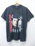 L★古着 ビンテージ ロック バンド Tシャツ 90年代 ジョージストレイト USA製 黒 ブラック 19sep16 中古 メンズ