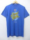 M★古着 ビンテージ ロック バンド Tシャツ 80年代 ライオネルリッチー 青 ブルー 19sep16 中古 メンズ