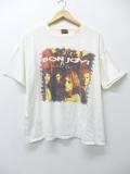 XL★古着 ビンテージ ロック バンド Tシャツ 90年代 ボンジョビ ボンジョヴィ USA製 白 ホワイト 19sep16 中古 メンズ