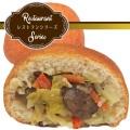 ロシアの家庭的なやさしい味わい 野菜ピロシキ 冷凍1個入り