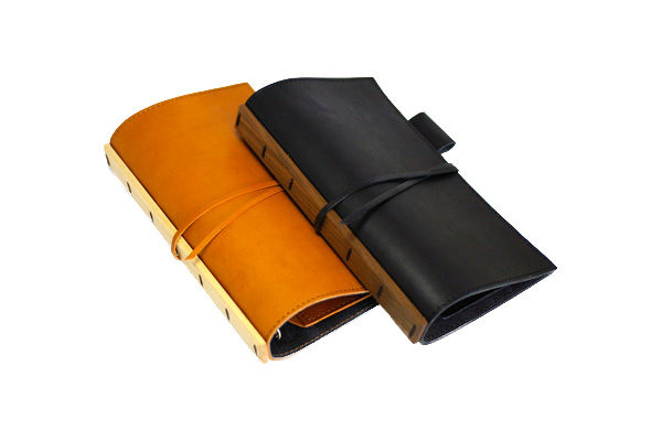 a core products  Leather System Notebook