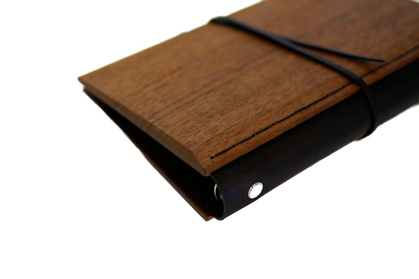 a core products  Wood System Notebook