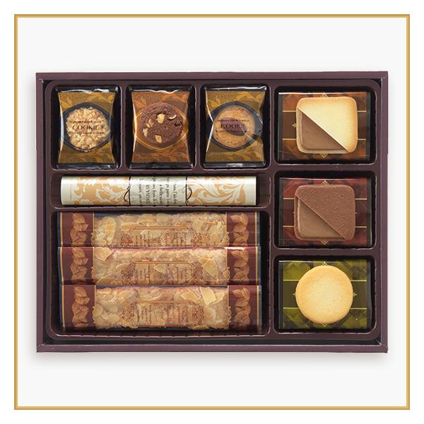 ロイスダールセット<アマンドリーフ(プレーン)×7、クッキー×27(7種類)>