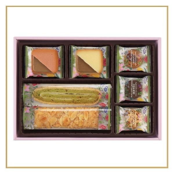 ロイスダールギフト セゾン デ フィーユ<アマンドリーフ・ピスタチオエクロール×各3、クッキー5種計19枚>