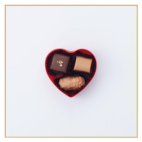 【1月27日入荷分】ハートショコラ ファンシー(赤)