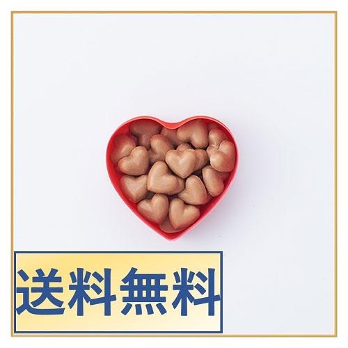 【1月27日入荷分】【送料無料】【まとめ買い10個でポイント3倍】ハートショコラ キスチョコ(赤)×10個