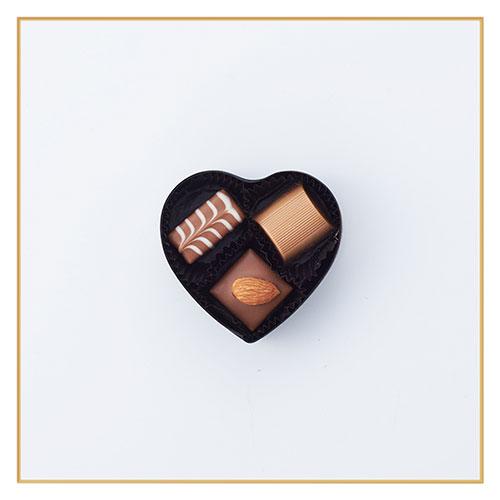 ハートショコラ ファンシー(黒)