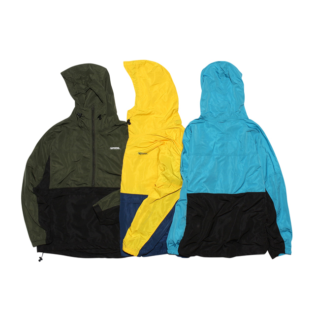 rvddw PACKBLE MOUNTAIN PARKA