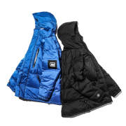 BLACK SPACE SHIP DOWN JACKET