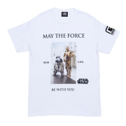MAY THE FORCE BE WITH YOU TEE