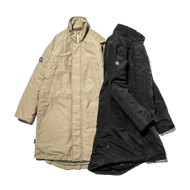 BLACK SPACE SHIP MONSTER PARKA