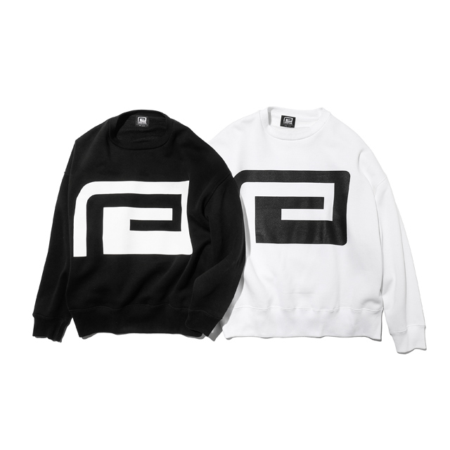 BIG SILHOUETTE LOGO CREW NECK SWEAT